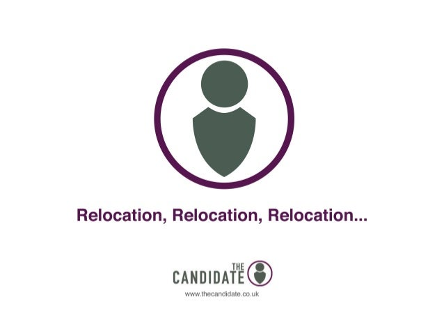 SAScon 2014 The Candidate  - relocation report
