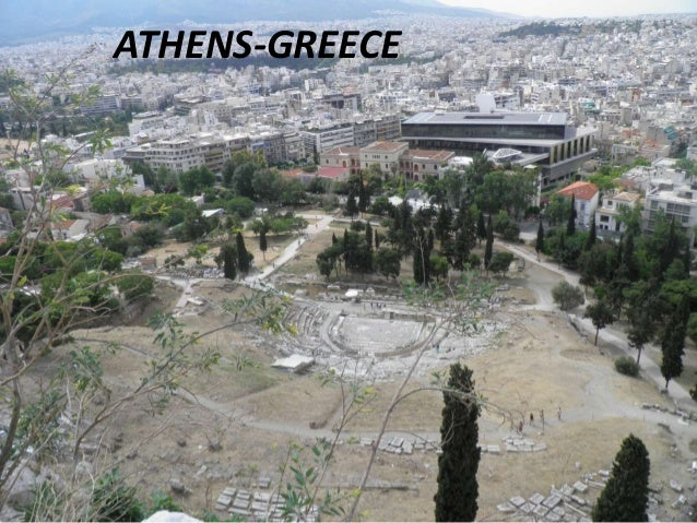 The capital of greece(athens ) the acropolis