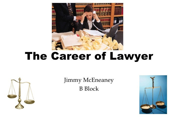 The Career of Lawyer Jimmy McEneaney B Block