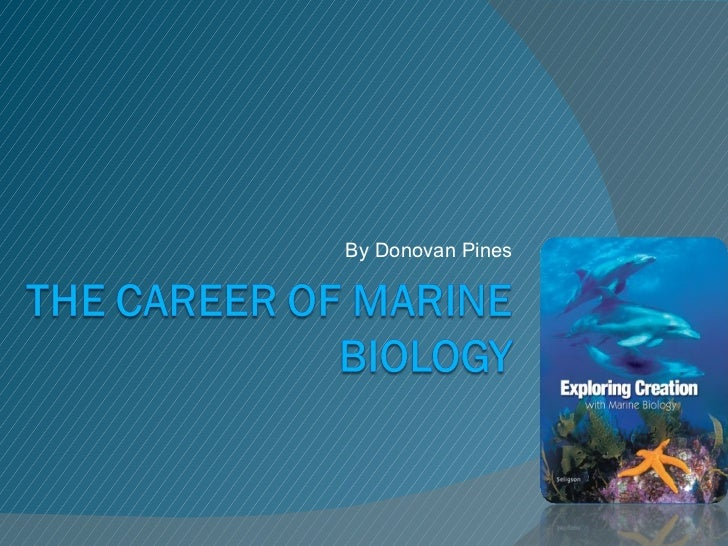 Marine Biology good subjects to learn in college