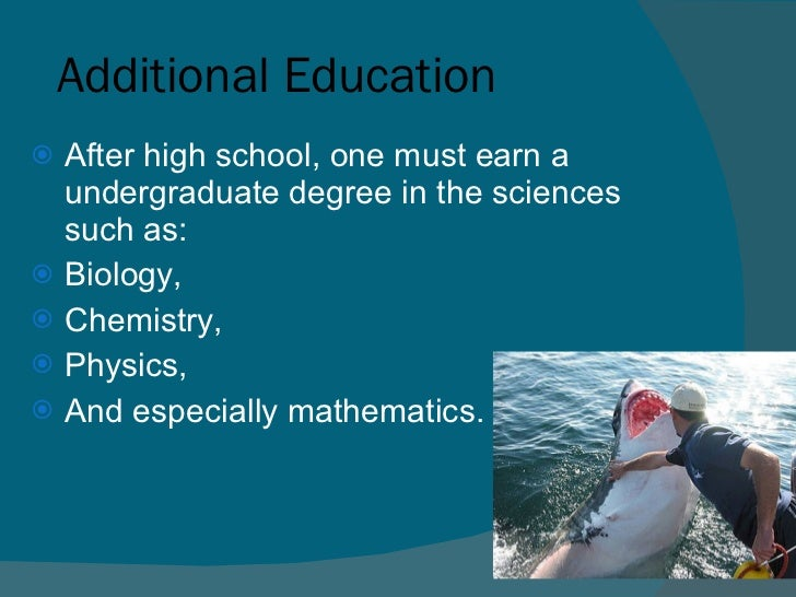 what degree is needed for marine biology