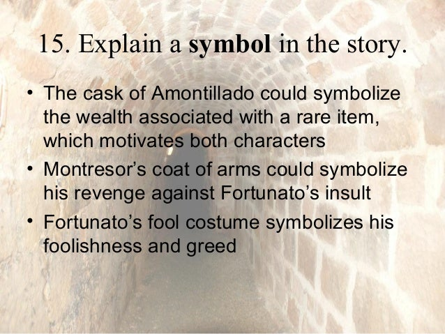 Cask of amontillado essay