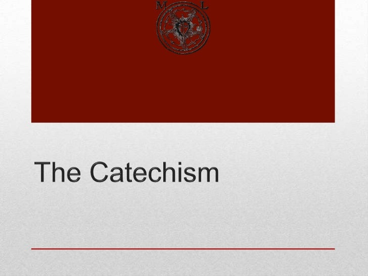 The Catechism - Lords Supper