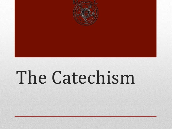 The Catechism - The Commandments