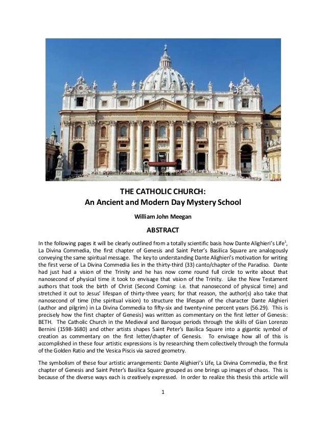 essay on the catholic church History: christian term papers (paper 13399) on roman catholic churchhds4lesscom : the roman catholic church is the single largest christian body catholics are christians who follow the pope in rome in matters of faith.