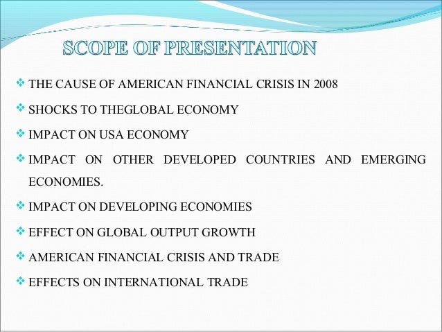 us financial crisis What economists think caused the financial crisis  chicago booth's initiative on  global markets asks scholars in us and europe to rank the.