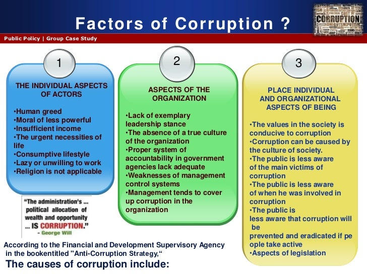 ethnicity and bureaucratic corruption in nigeras Perhaps the real challenge with tackling corruption in nigeria is that most of the   for these projects, self-interested closed cliques, ethnic-cum-family members, and   the bulk of the bureaucracy (often poorly paid) and bedevilled with.