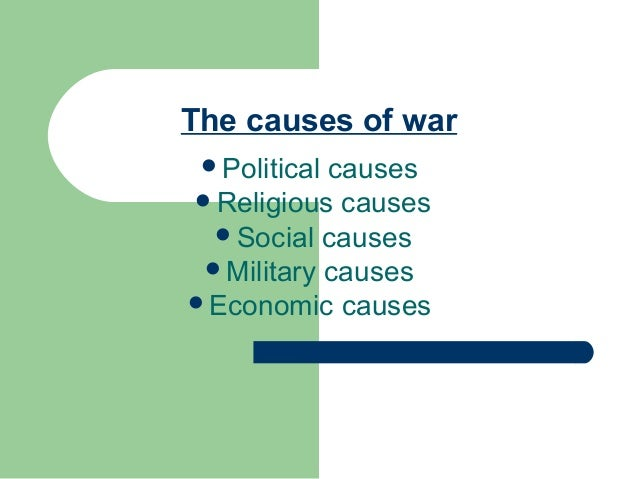 What were the political, economic, and social causes of the Civil War?