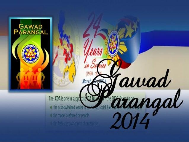 Gawad Parangal 2014
