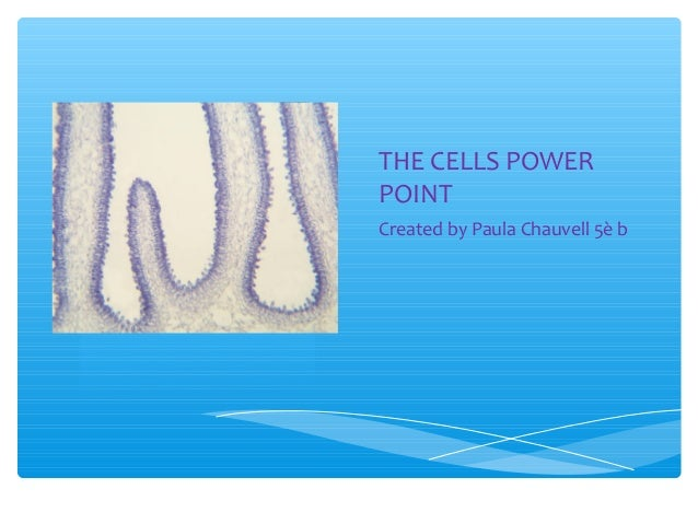 The cells power point