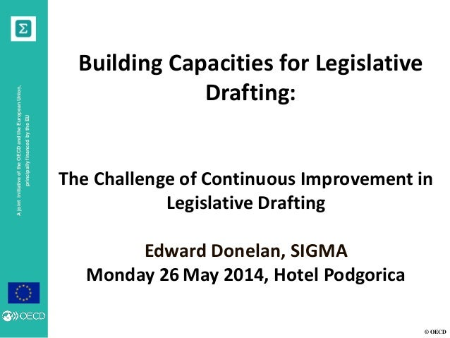 The challenge of continuous improvement in legislative drafting