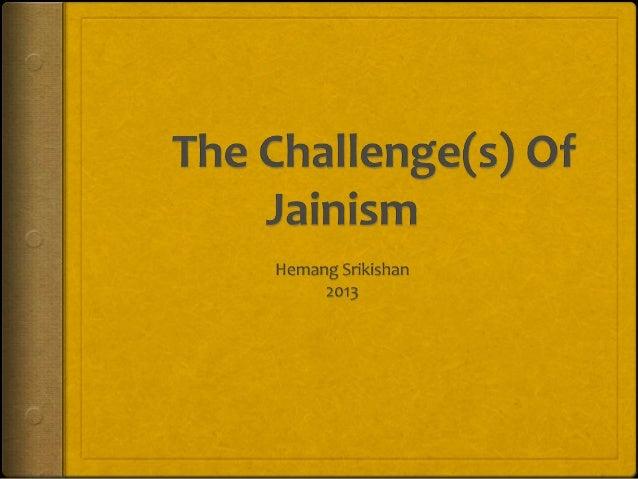 The Challenge(s) of Jainism | Webinar