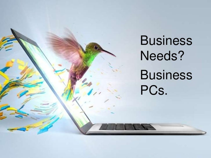 The changing computer for small biz