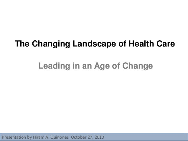 changing landscapes in health care Employment/educational services and supports   •self-care/independent living x x x  changing landscapes of employment/educational services and supports.