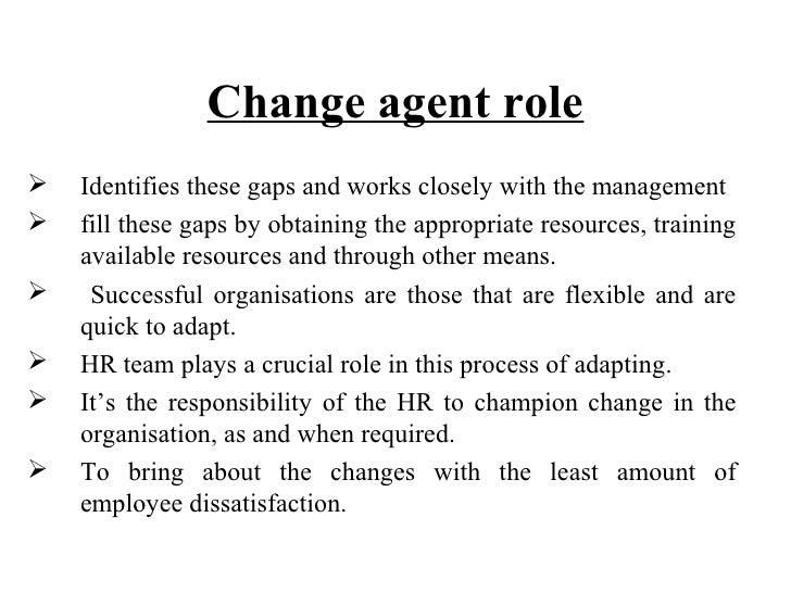 The changing role of hr manager