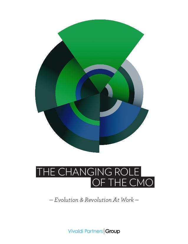 — Evolution & Revolution At Work — THE CHANGING ROLE OF THE CMO