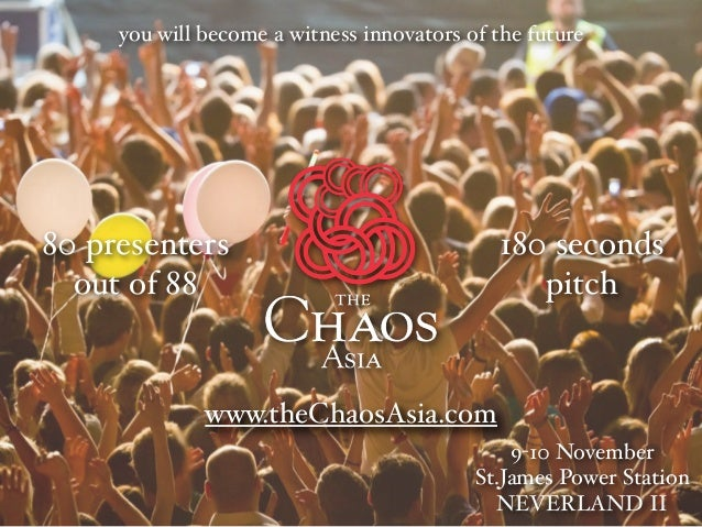 the Chaos Asia 2013, 80 presenters out of 88!