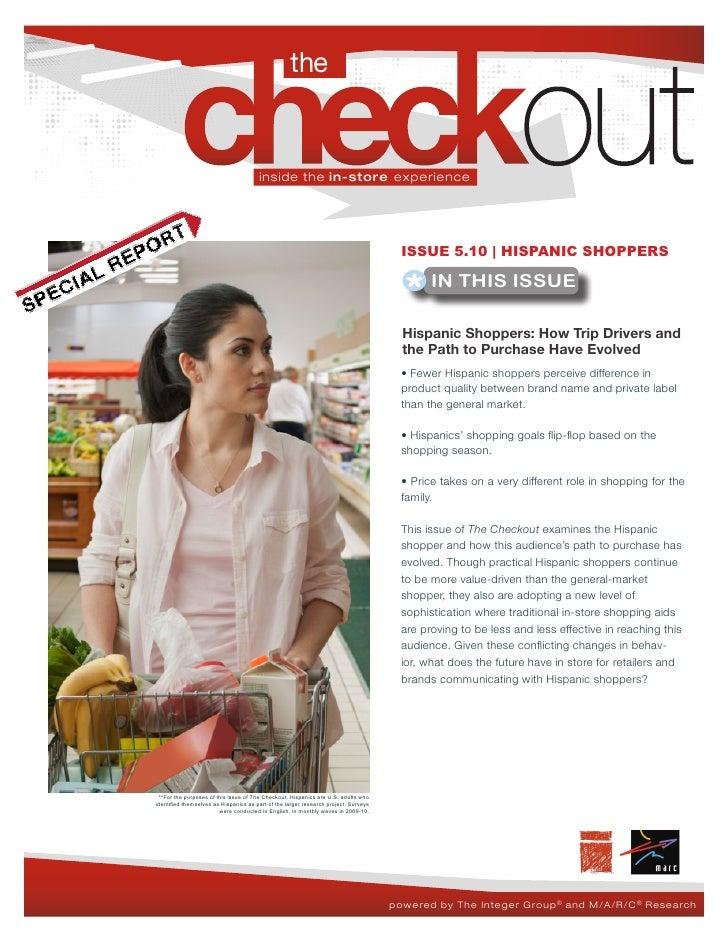 The Checkout 5.10 - Hispanic Shoppers