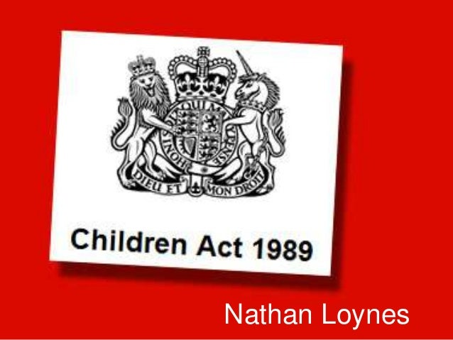 children act 1989 The duty under section 20 of the children act 1989 section 20 of the children act 1989 (cha 1989) imposes a duty on every local authority to provide accommodation to children identified as children in need resident in its area who appear to require accommodation.