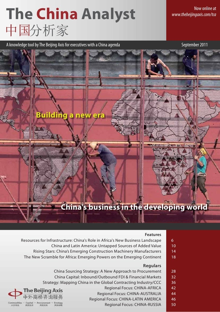 The China Analyst   September 2011