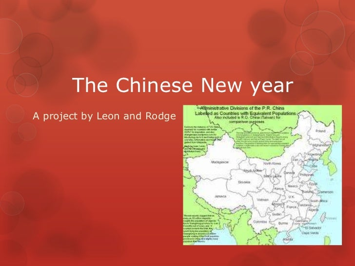 The Chinese New yearA project by Leon and Rodge