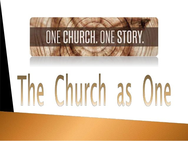 The church as one