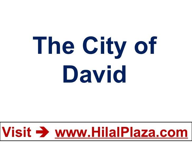 The City of David