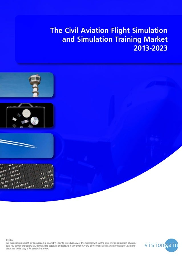 The civil aviation flight simulation and simulation for Planning your dreams org