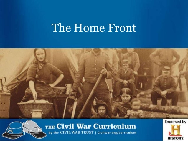 The civil war home front nlo