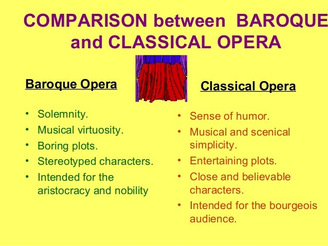 What are the differences between the Baroque styles?