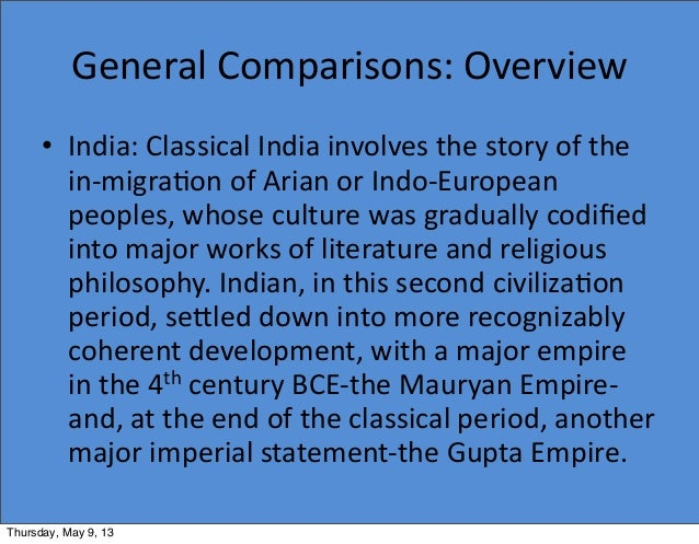 Did classical India build a strong government?