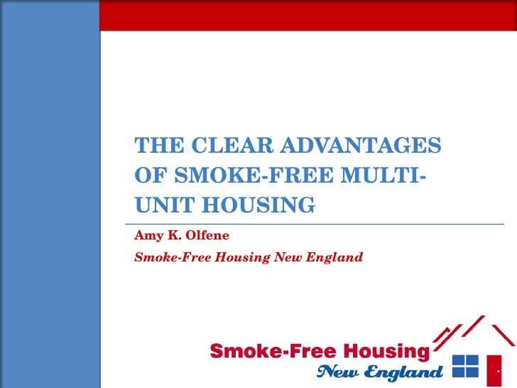 Smoke-Free Housing (NERSC)