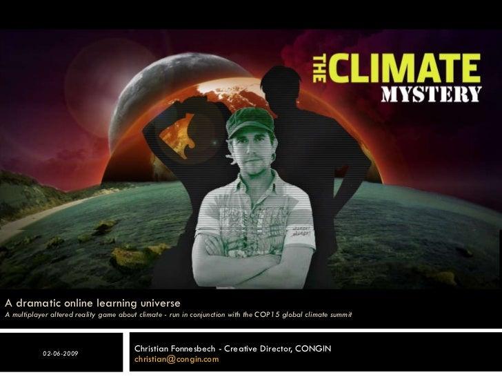 The Climate Mystery Apm Gov