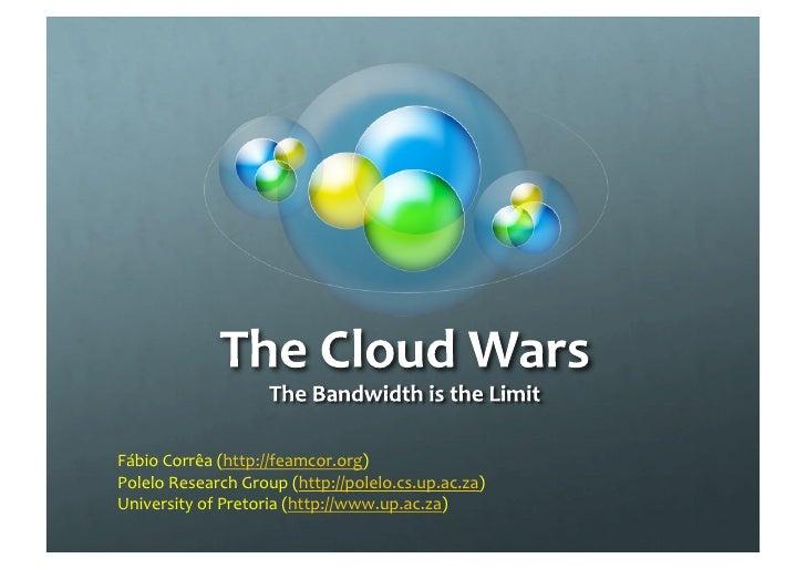 The Cloud Wars