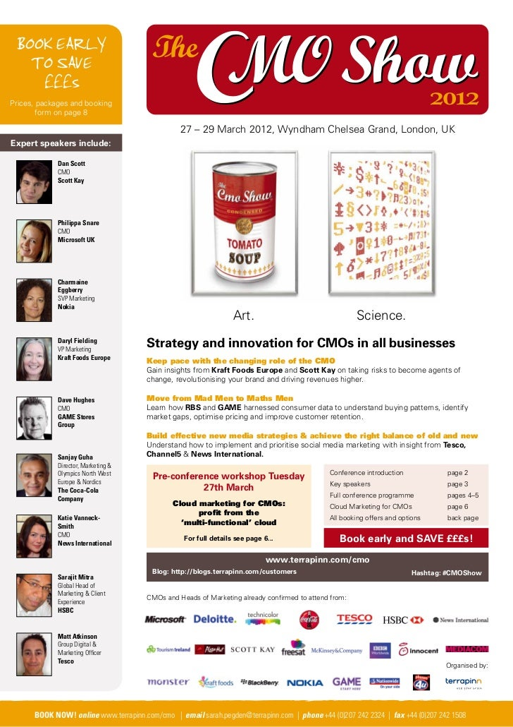 The CMO Show 2012