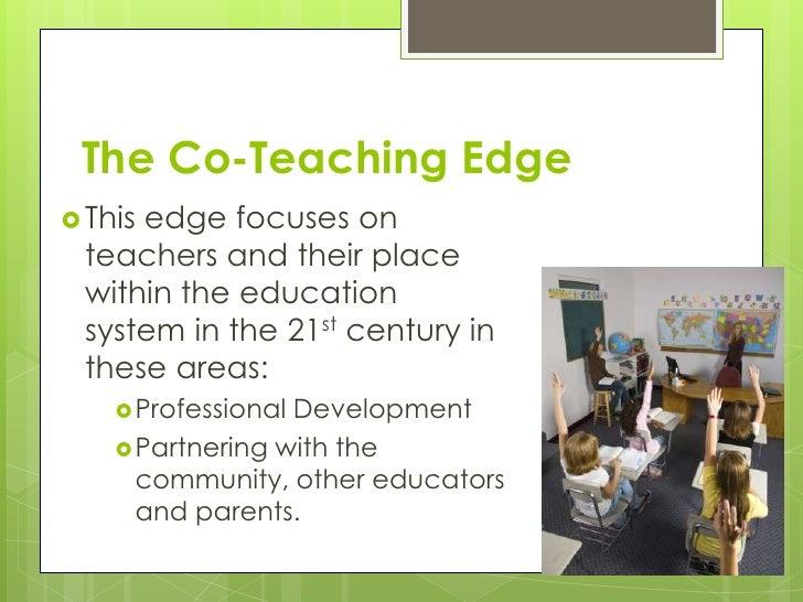 The co teaching edge