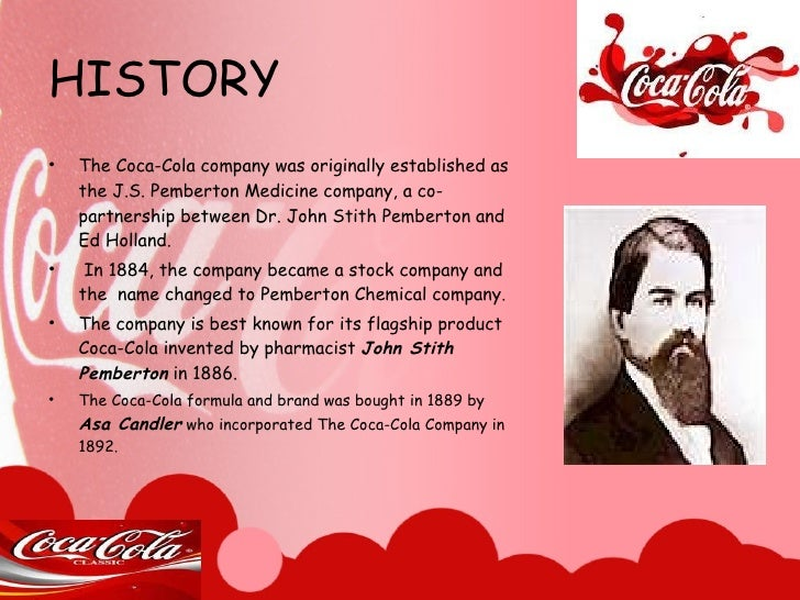 """the company background and history of coca cola marketing essay Strategies: the coca-cola company aims to be globally known, they do this by   what i am trying to explain about coca-cola creative way of marketing is that   in the arab world and home tosome """"historical"""" coca-cola facilities since 1942   a global brand relies on people from all background and countries coca."""