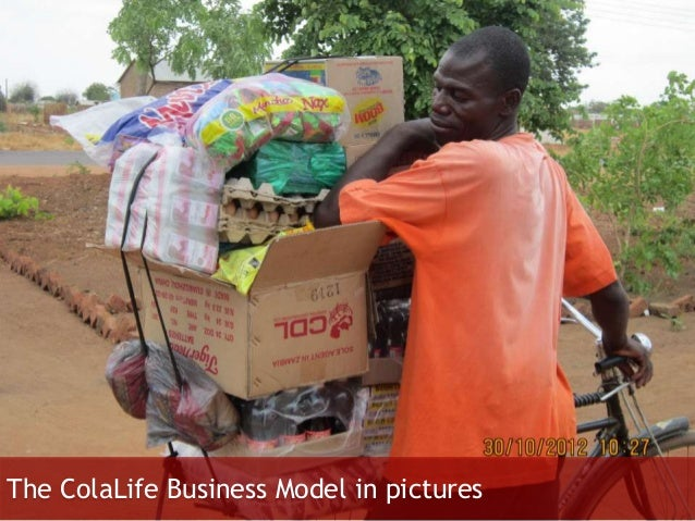 The ColaLife Business Model in pictures