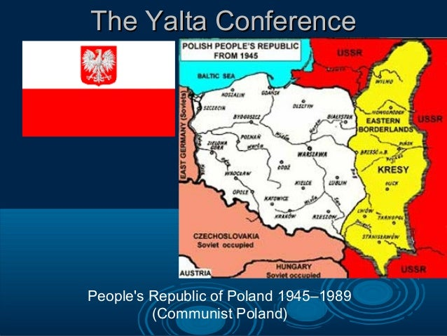 cold war yalta In many ways the yalta conference set the scene for the rest of the cold war in europe outcomes: germany would be divided into four zones of occupation with the ussr, britain, france and the usa.