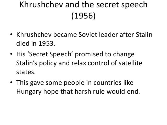 explain why khrushchev ordered the building Containing the spread of communism history essay print  khrushchev ordered the construction  the americans used this theory to explain their involvement in.