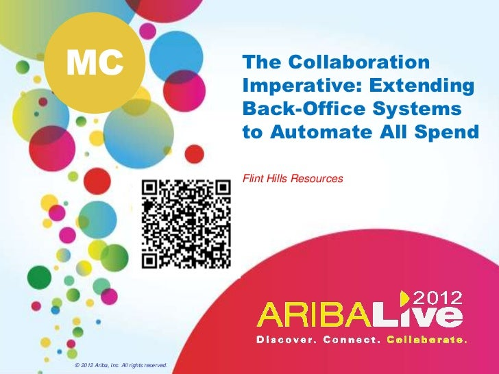 The Collaboration Imperative -  Extending Back-office Systems to Automate All Spend