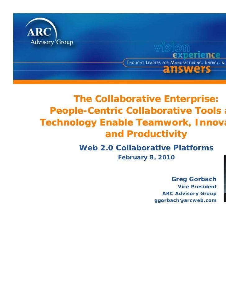 The collaborative enterprise