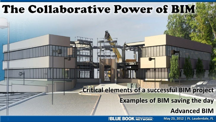 Critical elements of a successful BIM project                 Examples of BIM saving the day                              ...