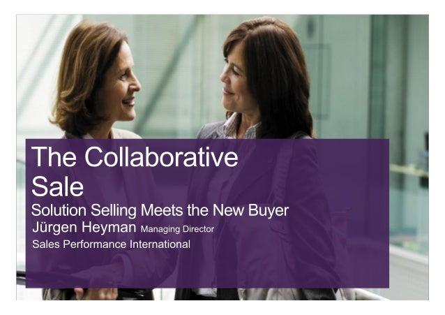 Solution Selling 2.0 with Jurgen Heyman SPI