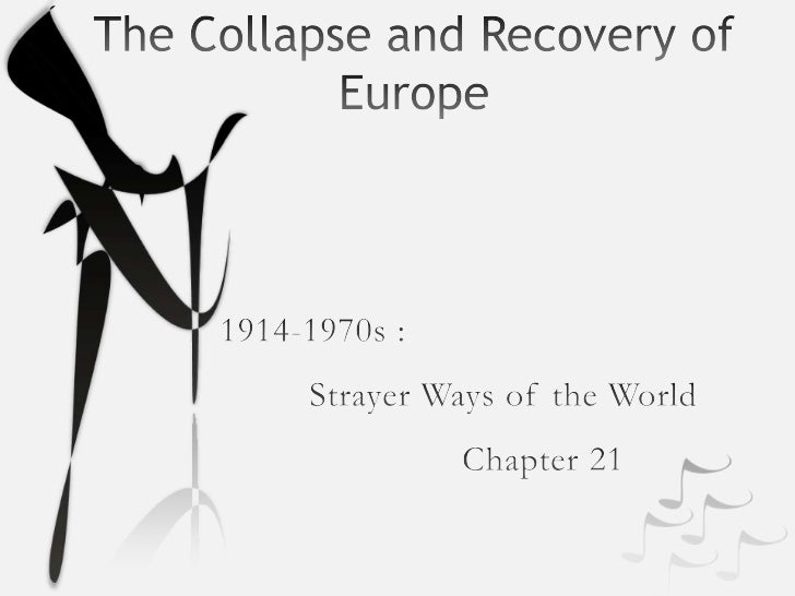 WWI: The collapse and recovery of europe