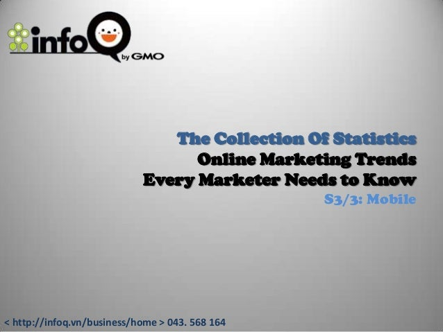 The collection of online marketing trend: Mobile