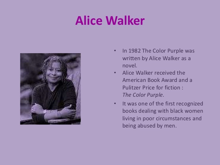 Friendship domination courage and independence in alice walkers the ...