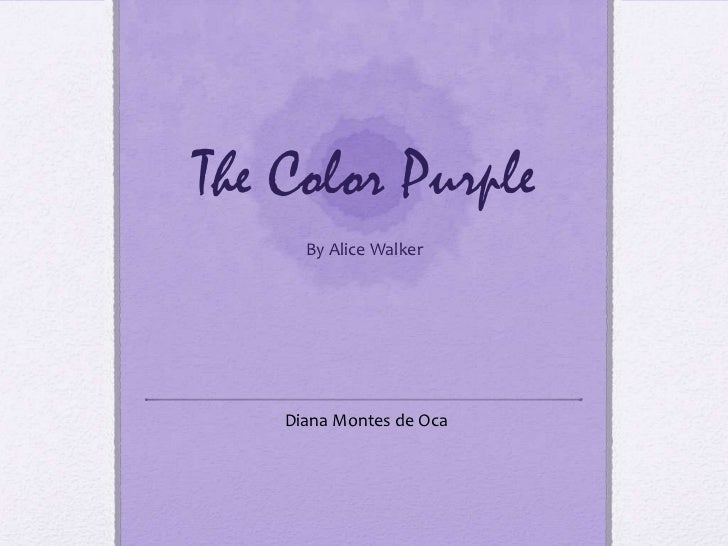 a lesson well learnt in alice walkers the color purple Report an animal to post your lost a female dog of medium size and tortishell in color she is wearing a studed who's learnt her lesson and will be getting.