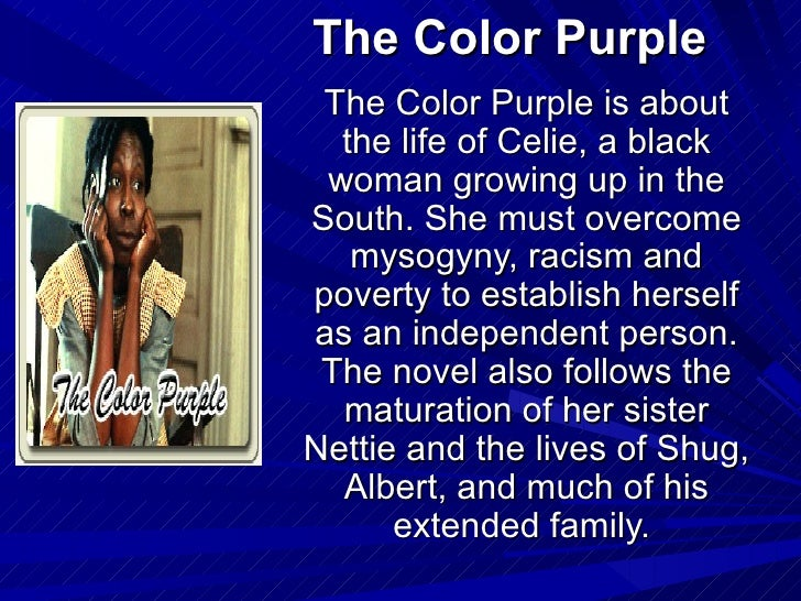 colour purple essay