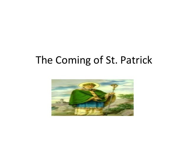 The Coming of St. Patrick